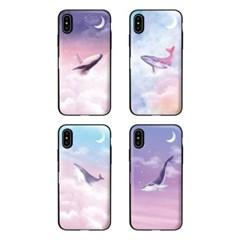 아이폰7 TCB-달빛고래 카드 범퍼 케이스_(2521605)