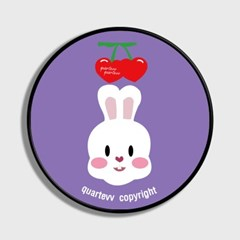 Cherry rabbit - purple(스마트톡)