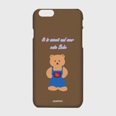 [하드,터프,슬라이드]Dandy bear-brown