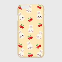 [하드,터프,슬라이드]Dot cherry rabbit-ivory