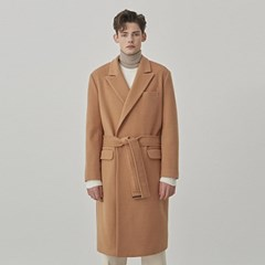 TAILOR ROBE WOOL COAT_BEIGE