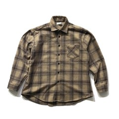 청키 울 체크 셔츠 CHUNKY WOOL CHECK SHIRT(2color)