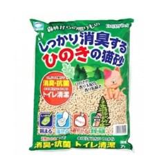 해피펫 히노끼모래 7L/고양이모래,편백나무,노송모래