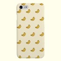 [헬로래빗] 냠냠후르츠패턴 바나나 하드 핸드폰 케이스