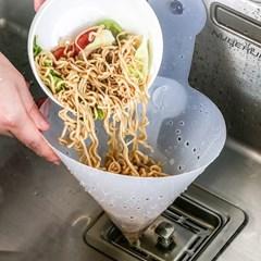고깔 싱크대 거름망 4개 필터 배수구 음식물