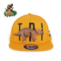 [다이노솔즈] 3D 트리케라톱스 공룡모자 스냅백_(915598)