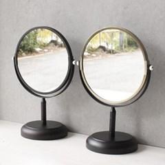 스탠드 블랙 골드 거울 (2type)_(1824779)