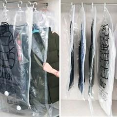 이불 의류 압축팩 진공 옷걸이 진공팩