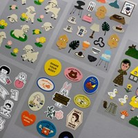 REMOVABLE STICKER 5종