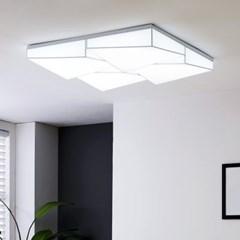 LED 클리프 아트솔 정사각 거실등 240W