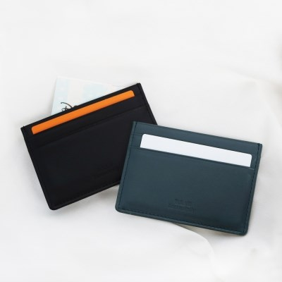 D.LAB Bello simple card wallet - 4color