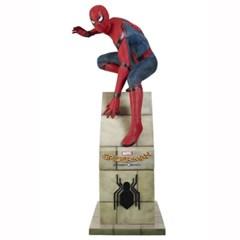 스파이더맨 라이프 사이즈 스테츄[Spider Man - Homecoming sitting]