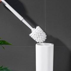 벽 부착식 물흡수 규조토 변기솔 화장실 청소솔