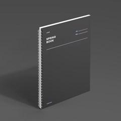 스프링북 - 다크호스 (룰드/스퀘어드/코넬시스템) 1EA