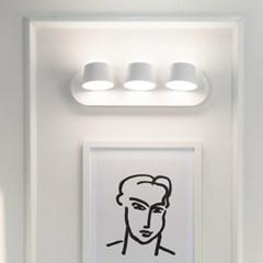LED 테이스 3등 벽등 25w