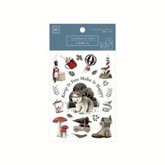 [MU] Crystal Rub-In Sticker CRO-013