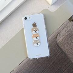 [젤리케이스] 브라운시바 481 폰케이스 아이폰/LG
