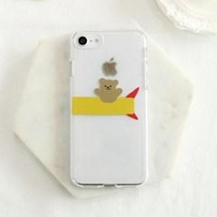 [젤리케이스] 로켓베어(뒤) 494 폰케이스 아이폰/LG