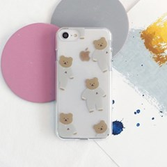 [젤리케이스] 패턴곰블리 498 폰케이스 아이폰/LG