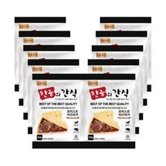 bb.q 한줌의 간식 모이스트 [치즈]버거 (100g) x10