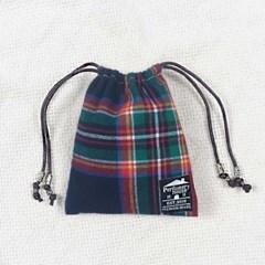스코틀랜드 타탄체크 퍼퓸포켓 (샤쉐)