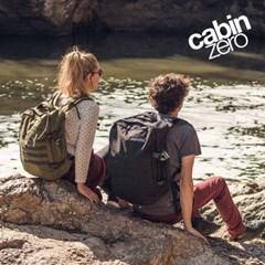 캐빈제로 밀리터리 44L 기내용 여행용 방수 백팩 배낭 여행가방