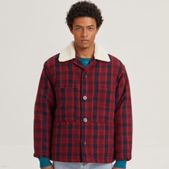 WARM CHECK JUMPER_RED