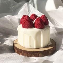 딸기 케이크 캔들