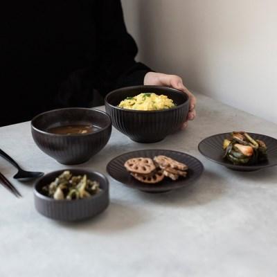 온서 1인 식기/혼밥세트 5P (4color)