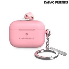 카키오 에어팟프로 실리콘 케이스 어피치 핑크