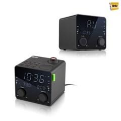 브리츠 BZ-CR3747P / 알람시계 FM 라디오 / 프로젝터