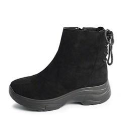 kami et muse Back strap suede fur boots_KM19w245