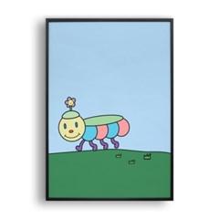 꽃송이 애벌레