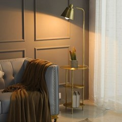 아파트32 홈 골드 철제 투비 조명 사이드테이블/ 플로어램프
