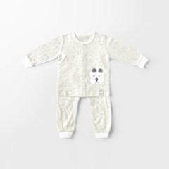 [메르베] 봄날의곰 신생아 유아 내복/내의/아기실내복__(1378491)