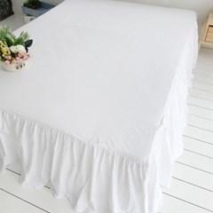 화이트워싱 침대커버