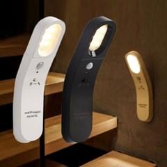 붙이는조명 LED 무선 센서등 2종