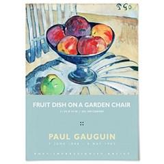패브릭 포스터 명화 사과 과일 유화 그림 액자 폴 고갱 3