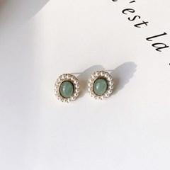 [데일리룩] 앤틱 진주 공주 귀걸이_antique princess earring