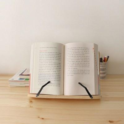 에코상사  각도조절 휴대용 원목 독서대