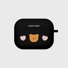 Dot love and bear-black(Air pods pro)_(1427553)