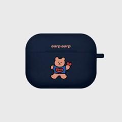 Bear heart-navy(Air pods pro)_(1427533)