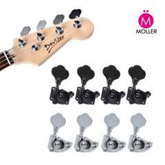 베이스 기타 헤드머신 4개한세트 줄감개 기타튜닝_(1449025)