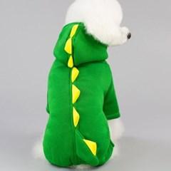 강아지 악어옷 올인원
