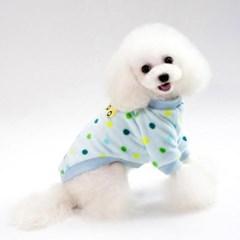 강아지 겨울옷 알록달록 동그리