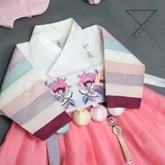 한설한복1701.S 여자아이가 입고싶은 한복 1위는 핑크색 여아한복
