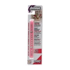 에비뉴 큐빅 고양이 목줄(핑크)_(1264472)