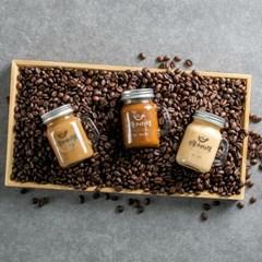 [강릉커피잼] 은은한 강릉의 커피향이 그대로~ 커피잼 3종세트