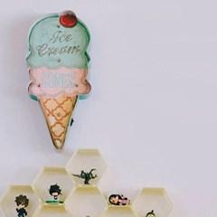레트로 철제 아이스크림 조명