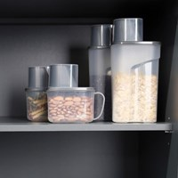 사각 곡물통 냉장고용기 3종 세트